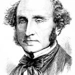 John Stuart Mill. Repro Popular Science Monthly