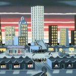 Roger Brown: Kristův příchod do Chicaga, 1976. Repro www.artisthomes.org