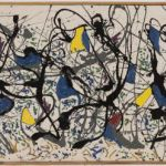 Jackson Pollock: Summmertime Number 9 (1948). Repro Tate Gallery