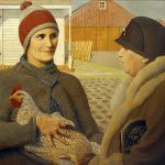 Grant Wood: Odhad, 1932. Repro Wikimedia Commons
